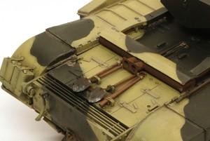 チャーチルMk.3 OVMや排気管の仕上げ