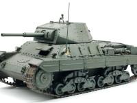 ガールズ&パンツァー イタリア重戦車P40 アンツィオ高校 1/35 プラッツ