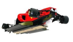フェラーリ・F60 車体の下の整流板