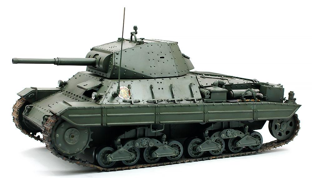イタリア・重戦車P40 スミ入れ