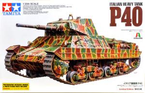 イタリア・重戦車P-40 1/35 タミヤ