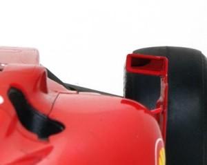 フェラーリ・F60 バックミラー