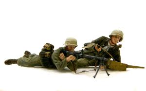 アフリカ軍団歩兵 MG34機関銃チーム