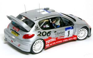 プジョー206 WRC2002年 1/24 タミヤ