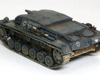 ドイツ軍の車輌は3色迷彩もいいのですが、ジャーマングレー一色もなかなかカッコいいですね。強そうです。