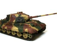迷彩塗装は大戦後期の戦車に特徴的な光と影迷彩(アンブッシュ迷彩)です。制空権を握られ防戦一方となった戦車隊が隠れるのに最適な迷彩です。