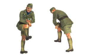 ドイツ戦車兵・アフリカ軍団 仕上げ