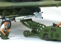 爆弾やミサイルを搭載するためのリフトです。
