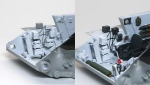 T-34/76 第112工場 インテリアの組立てと塗装