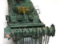 対地雷戦車シャーマンクラブ