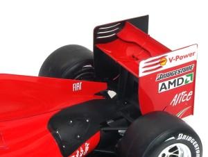 フェラーリ・F60 リアウイング