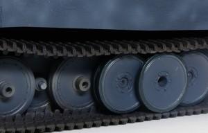 ティーガー1極初期型 転輪、履帯の塗分け