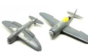 P-47Dサンダーボルト マスキング