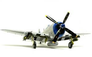 P47-Dサンダーボルト バブルトップ 武装の取り付け
