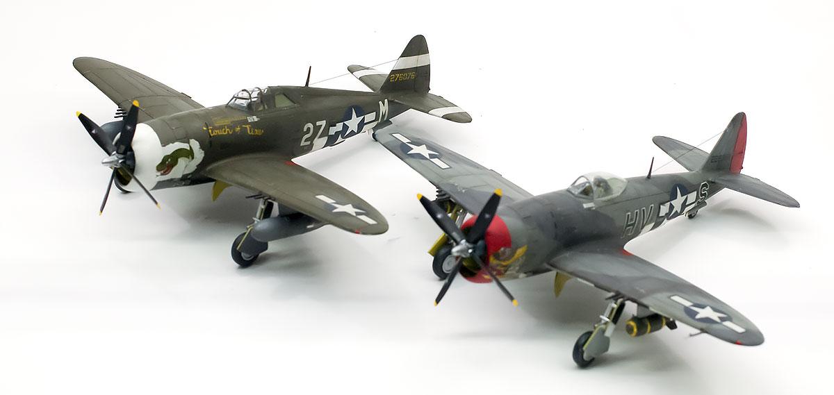 リパブリック・P-47Dサンダーボルト  1/72 ハセガワ