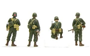 アメリカ歩兵・ラインへの進軍 装備品の塗装