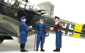 スツーカ・カノーネン・フォーゲル と ドイツ空軍パイロット