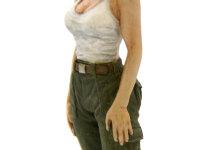 女性が女性たるゆえんの部分でして、ここの表現には気を遣いました。すらりとした白い腕がいいでしょ。えっ?胸の方が気になる…ごもっとも(+_+)\バキッ!