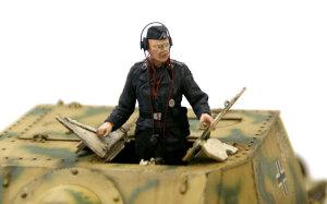 ドイツ・自走砲搭乗員セット ブルムベア初期型に乗せてみた