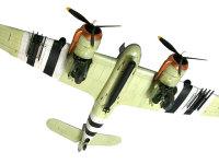 おなかには大きな魚雷を搭載しています。翼にはロケットランチャーが見えますが、魚雷や500ポンド爆弾とは選択して搭載されます。