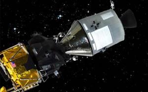 アポロ11号月着陸船 月へ向かう