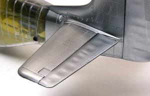 P-51Dマスタング4 水平尾翼