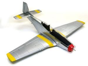 P-51Dマスタング4 翼の塗分け