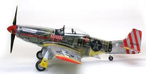 P-51Dマスタング4 各部の組立て