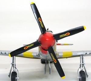P-51Dマスタング4 プロペラ