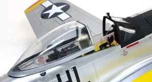 P-51Dマスタング4 キャノピー