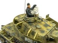 キット付属の戦車兵です。運にまかせなくてもなんとか塗れるようになってきました。にやけた表情がいいでしょ。