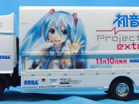 初音ミク・プロジェクト・ディーヴァ営業車 1/32 セガ(アオシマ)