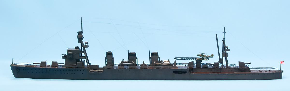 日本海軍・軽巡洋艦 長良 1/700 フジミ