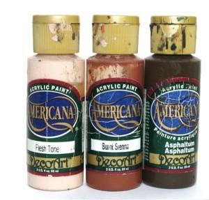 アメリカーナ トールペイント用水性アクリル塗料