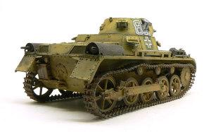 1号戦車A初期型 履帯の塗装と仕上げ
