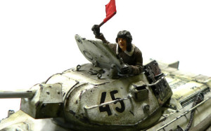 T-34/76戦車 1942年型の戦車兵