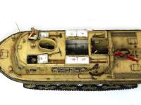 運転手のフィギュアとして、タミヤのSd.Kfz.222(アフリカ仕様)のドライバーを使いました。ホビーショーのジャンク市で買ったので安くあがりました。