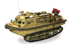 ドイツ戦車兵・アフリカ軍団 LWSに乗せてみた