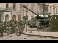 ベルリン市内に突入するJS-II重戦車とアサルト・トループスです。ドイツ兵に緊張感がないのは私の責任じゃありません。(+_+)\バキッ!