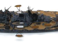 幅広の船体がいかにも船艦!!って幹事で頼もしいですよね。他の金剛型の戦艦との違いもちゃんと再現されているそうです。