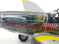 P-51を歴史に残る名機にしたのは、このイギリス製のロールスロイス・マーリンエンジンです。