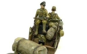 ケッテンクラート ラムケ旅団 荷物の製作