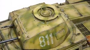 2号戦車F型 チッピング