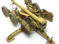 ドイツ軍対戦車砲でおなじみの2重防盾がエッチングパーツで再現されています。これがキットに標準で入っているのですからポイント高いですね。