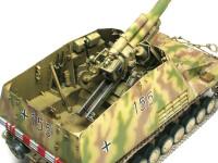 砲尾です。最近のドラゴンの大砲キットはAFVクラブほどでは無いのですが、とても精密に再現されています。ここまでやってもらえれば十分ですよね。