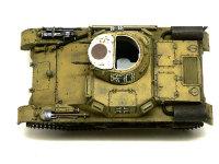 真上から見た1号戦車A初期型です。行軍中の1号戦車を再現したいのですが、アフリカではさぞ暑いだろうと思って窓はほとんど開けてあります。ここにフィギュアを4名乗せるつもりです。