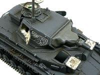 斜め上から見た4号潜水戦車D型です。実戦は始めての潜水戦車です。チッピングは控えめにしました。