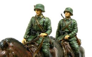ドイツ・第1騎兵師団 フィギュアの塗装
