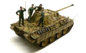 パンターD型とドイツ戦車兵・ヤーボに気をつけろ