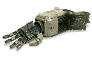 地球連邦軍・対MS特技兵セット 陸戦ガンダムの腕